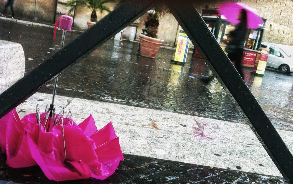 дождь в Ватикане